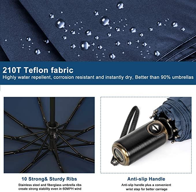 테프론 코팅 자동 우산, asika