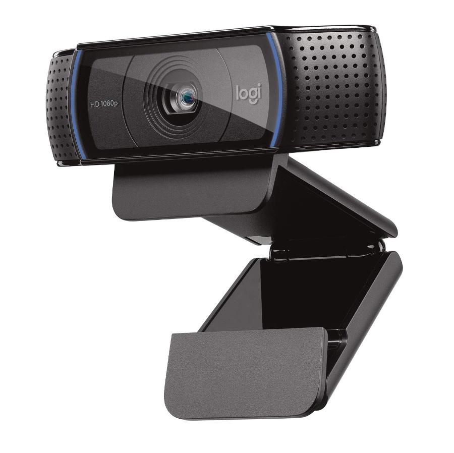 로지텍 HD Pro C920 1080p 웹캠