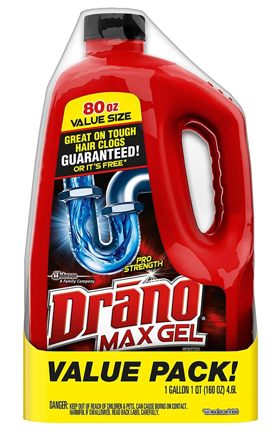 Drano Max Gel 80Oz 액체 뚫어뻥
