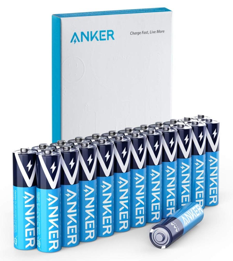 Anker AAA 알카라인 건전지 24개 팩