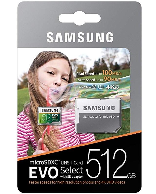 삼성 마이크로 sd카드 512gb