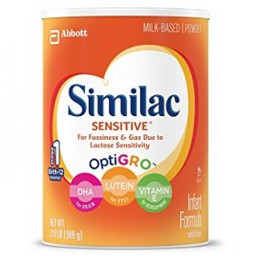 씨밀락 Similac Sensitive Infant Formula with Iron 분유(3팩)