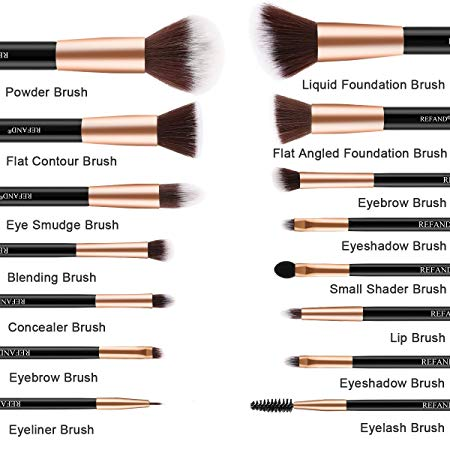 Refand Makeup Brushes