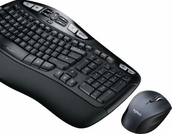 로지텍 MK570 키보드, 마우스