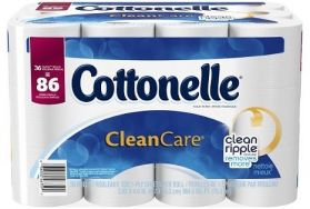 Cottonelle CleanCare 패밀리롤 화장지 36개
