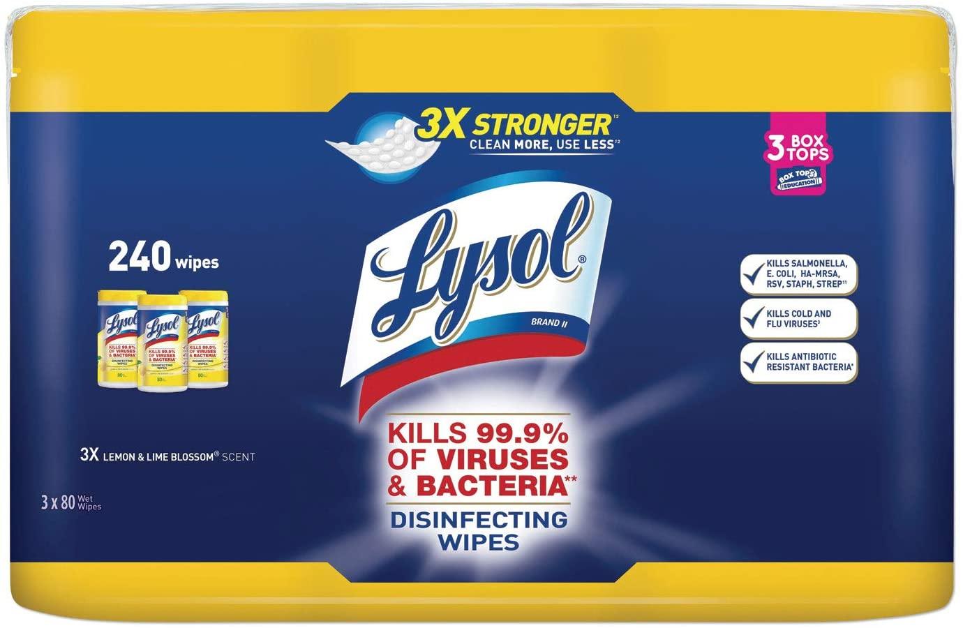 라이솔 (Lysol) 살균 티슈