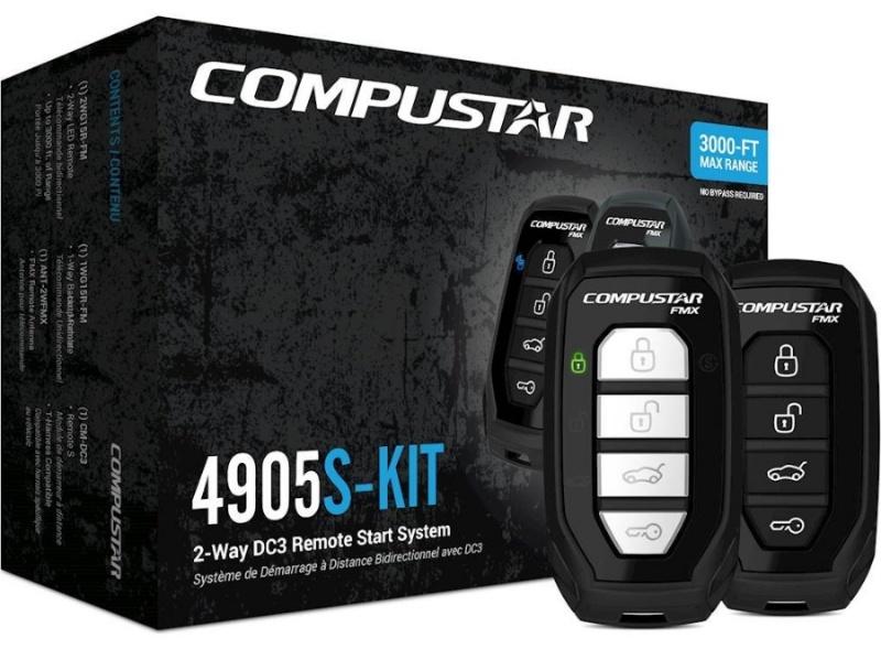 CompuStar CS4905S-KIT 2웨이 원격시동 시스템