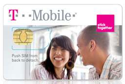 T-Mobile Micro / Nano (SIM) 심카드 Activation Kit $0.01