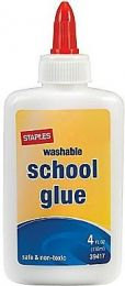 Staples School Glue 풀, 4oz