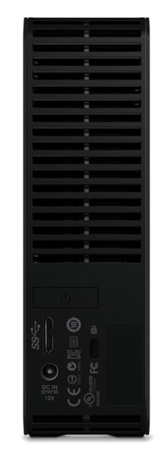WD Elements 6TB USB 3.0 외장하드 뒷면