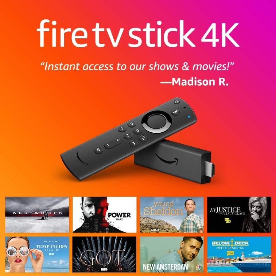 아마존 파이어 4K TV 스틱