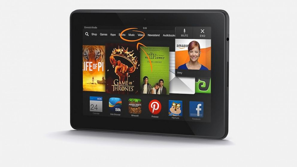 "Kindle Fire HDX 7""  16GB 테블렛"