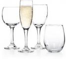 The Cellar Glassware Basics 와인잔, 유리컵 등 12개 세트