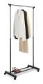 Whitmor 높이 조절가능, 바퀴있는 옷걸이 랙