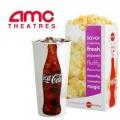 AMC 영화관 화요일 영화 티켓 $5 + 팝콘, 드링크 $5