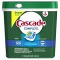 캐스케이드 Cascade Complete 식기세척기 세제, 78개 팩