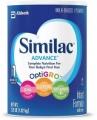 씨밀락 Similac Advance Infant Formula with Iron 36oz 분유 (3팩)