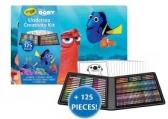 Crayola 도리를 찾아서 색칠책 + 125피스 색칠놀이 키트