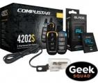 CompuStar CS4202-S-KIT 2웨이 원격시동 시스템 & 설치 포함