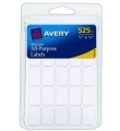 Avery 0.5 x 0.75인치 라벨 스티커 525개 팩
