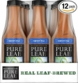 Pure Leaf Iced Tea, Sweet Tea 18.5oz 아이스 티 (12개 팩)