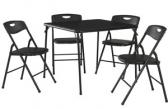 Cosco 5피스 접이식 테이블 의자 세트