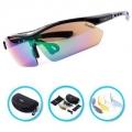 Verdster TourDePro 스포츠 편광 렌즈 선글라스, 렌즈 5개 + 케이스