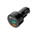 AUKEY 퀵차지 2.0 30W 2 포트 USB 차량용 충전기