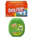 Gain 팩/포드 (캡슐세제) 81캡슐 + Bounce 섬유유연제 (240장)