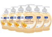 Softsoap 7.5oz Milk and Honey 손비누 (6개 팩)