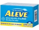 얼리브 (Aleve) 진통제 270정