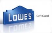 로우스 (Lowe's) $100 기프트 카드 (이메일 배송)