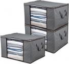 이불 / 계절옷 수납 보관가방 (3팩)