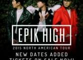 에픽하이 북미 투어 미국, 캐나다 2015 콘서트