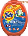 타이드 (Tide) 포드 세제 (96캡슐 x 2개)