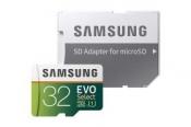 (프라임데이 딜) 삼성 32GB MicroSD 메모리카드, 에보 셀렉트