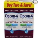 Bausch & Lomb Opcon-A 아이드롭 / 점안액 (2개 팩)