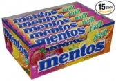 멘토스 과일맛 Mentos Rolls, Mixed Fruit 1.32 Oz (15개 팩)