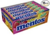 멘토스 과일맛 Mentos Rolls, Mixed Fruit 1.32 Oz (15개 팩)