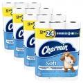 샤밍(Charmin) Ultra Soft 더블롤 화장지 48개 (프라임딜)