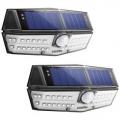 Litom 무선 태양광 모션감지 30 led 센서등 (2개 팩)