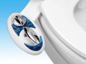 (프라임데이 딜) Luxe Bidet Neo 180 수동 변기 비데 (전기 미사용)