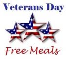 미국 베테랑스 데이 미군 군인, 베테랑 공짜 / 할인 식사
