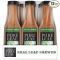 Pure Leaf Iced Tea, Unsweetened 18.5oz 아이스 티 (12개 팩)