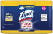 라이솔 (Lysol) 살균 티슈 / 소독티슈 (80매 x 3입)