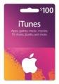 애플 아이튠즈 (iTunes) $100 기프트카드