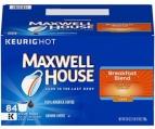(프라임데이 딜) 맥스웰 하우스 K-Cup 케이컵 캡슐커피 (84개 팩)