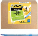 BIC Round 볼펜 144개 팩 (블루색)
