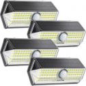 Litom 태양광 모션감지 100 led 센서등 (4개 팩)