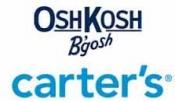카터스, 오시코시 50% - 70% 할인세일 + 추가 25% 할인코드